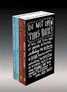Do Not Open This Box: Keri Smith Deluxe Boxed Set. Wreck this journal @ agreatread £13 free delivery