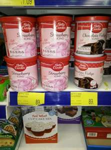 Betty Crocker frosting only 89p @ B&M