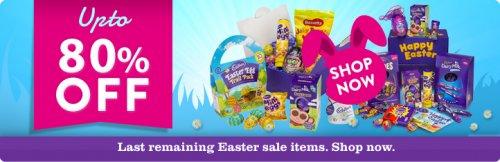Cadbury Easter Sale 6x280g Large eggs for £6 cadburygiftsdirect