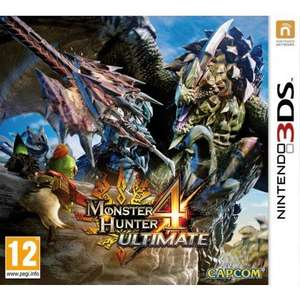 Monster Hunter 4 Ultimate (3DS) - £19.95 from The Game Collection