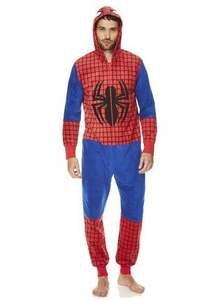 Mens Spiderman onesie £10 @ Tesco Clothing (Free click & collect)