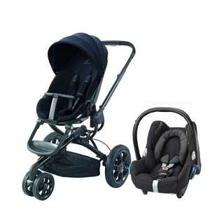 Quinny Mood Black Cabriofix travel system was was £765.00 Now £399 @ Bounty
