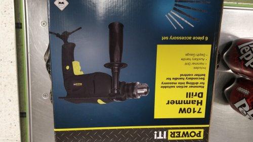 hammer drill £10 - Asda (instore)
