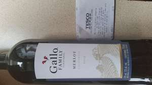 Gallo Family Merlot £3.50 Tesco