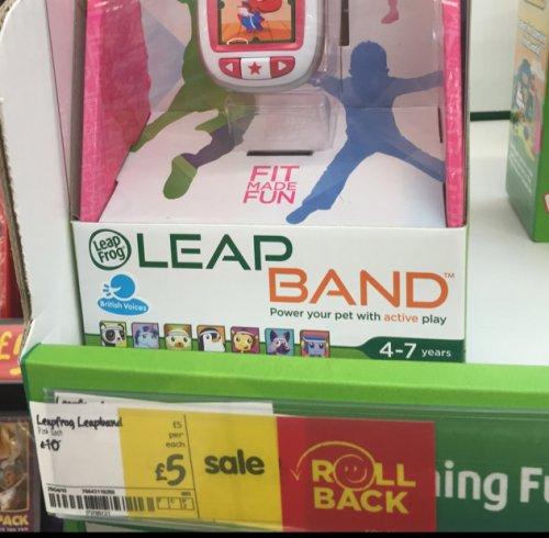 Leapfrog leapband pink asda £5