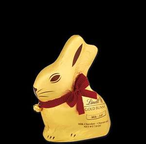 200g Lindt Bunnies £1.35 70% off.