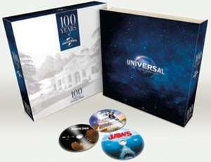 100 Years of Universal - 100 Movie Collection (Limited Edition Box Set) [DVD] - Zoom.co.uk - £52 using code SIGNUP20