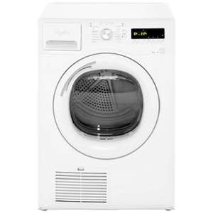Whirlpool AZA9791 9kg Condenser Tumble Dryer - White, A+ energy rating with Heat Pump technology only £334 with code! @ AO.COM (Potentially £280.15 with Quidco!!)
