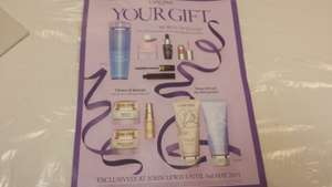 Lancome free gift at John Lewis with any 2 purchase instore only