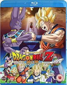 Dragonball Z Battle of the Gods on Blu-ray by toei animation and manga £14.99 HMV