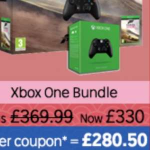 Xbox One Forza Horizon 2 With Extra Controller Bundle £286.45 Delivered @ Rakuten/Simply Games With Code