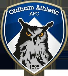 Oldham Athletic season ticket 2015/2016 season £10 for under 12's (43p per game)