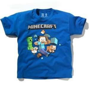 Minecraft boys blue t-shirt £4.99 @ Argos