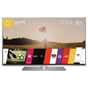 "LG 42LB650V LED HD 1080p 3D Smart TV, 42"" with Freeview HD + 5 year guarantee + 2 pcs 3d glasses £348.95 @ John Lewis"