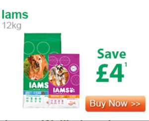 £4 off iams is back on. £18.45 @ PetMeds