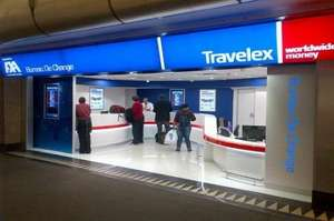 Travelex - Happy Hour possible 2-4% saving (11am-1pm on 28th)