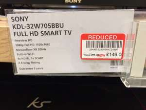 TVs less than half price in Waitrose instore - from £124