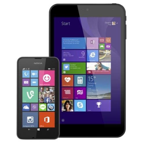 """Tesco Mobile Nokia Lumia 530 & Linx 7"""" Tablet Bundle £89"""