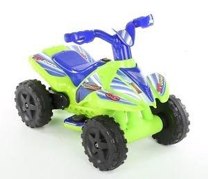 Roadsterz Kids Childrens Ride On Car Quad Green 6V Electric Go Kart Battery -  £7.99 delivered Halfords/eBay Outlet