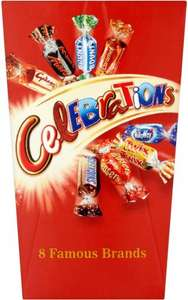 Celebrations Mini Box (70g) was 99p now 50p @ B&M
