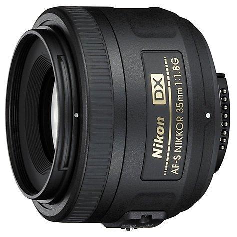 Nikon DX 35mm f/1.8G AF-S Standard Lens £139.99 @ John Lewis Free Delivery/Click & Collect £119.99 After Cashback