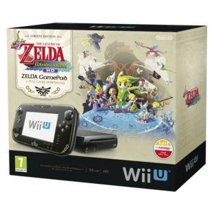 Nintendo Wii U ZELDA Console £214.99 - £20 Argos Vouchers + 4 Games @ argos