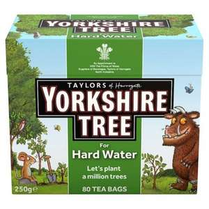 Yorkshire Tea 80 Teabags (Hard Water) £0.62 @ Tesco Instore
