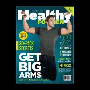 Glitch Healthy Men magazine on GNC web site 1p and free delivery at the moment
