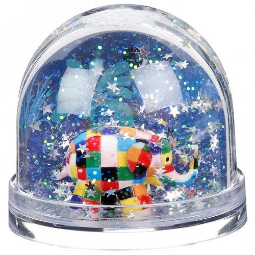 John Lewis, Elmer Snow Globe £5.00