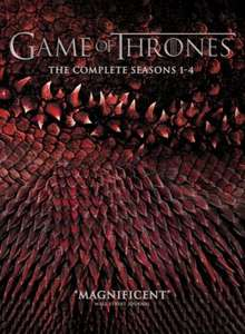 Game Of Thrones Season 1-4 DVD Boxset £30.93 (Using Code) @ Tesco Direct