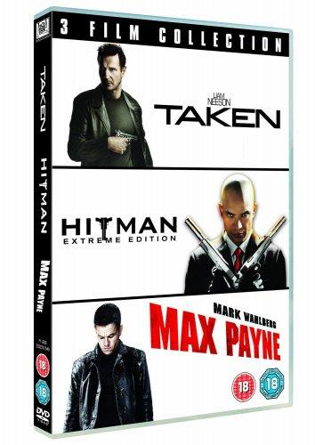 Taken/Hitman/Max Payne (DVD Boxset) £3 Delivered @ Tesco Direct