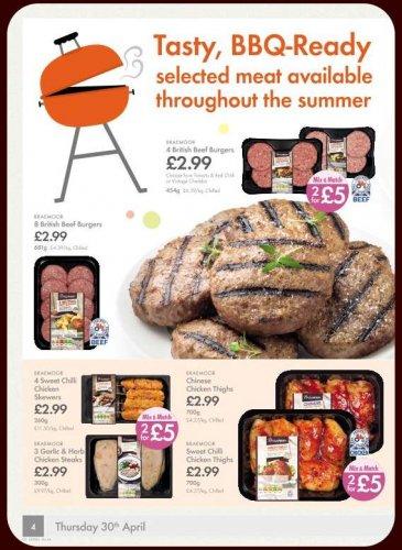 Braemoor British Beef Burgers (8 = 681g) ONLY £2.99 @ Lidl