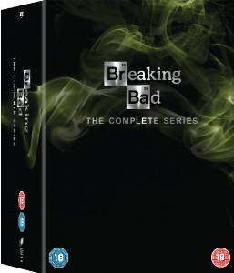 Breaking Bad: The Complete Series [DVD] for £33.00 or £41.24 (bluray) at amazon