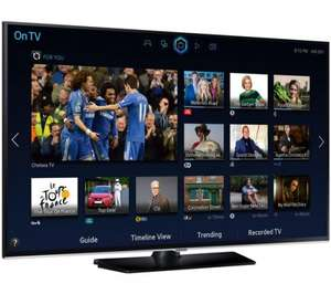 "Samsung UE55JU6400 LED 4K Ultra HD Smart TV, 55"" with Freeview HD and Built-In Wi-Fi £1299 @ John Lewis"