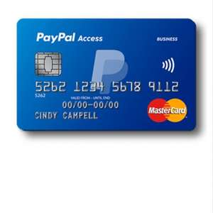 Get your PayPal Access Card - Eligible Customers Only