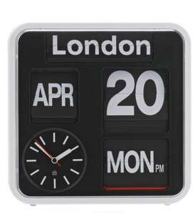 Habitat Flap Analogue City Wall Clock. £51 down to £40.80 with code @ Argos