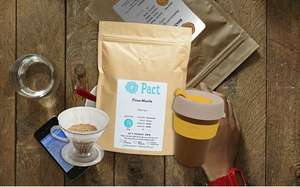 Get a KeepCup 8oz (Worth approx £10+)  + V60 coffee maker  + 1 250g Bag of Pact Coffee all for £8.95 delivered using code @ Pact Coffee