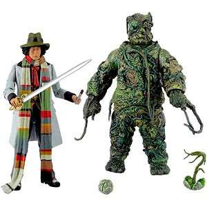Doctor Who,Tom Baker ,The Seeds of Doom Classic Action Figure Set £22.09 with Code 15OFFBBC @ The BBC Shop