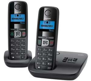 GIGASET AL410A Cordless Phone with Answering Machine - Twin Handsets  - Currys £24.99