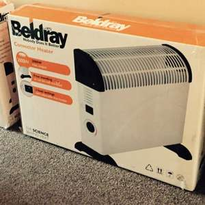 Beldray Convector Heater 2000W £5 from Wilko