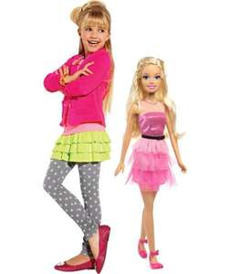71cm Tall Barbie Doll with Dress Catalogue number 228/2091Reduced to £11.99 from £39.99 @ Argos