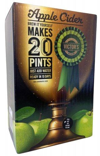 Victor's Drinks Apple Cider 20 Pint Kit [Add-on Item] £5.98 - Amazon