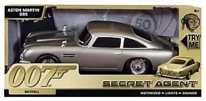 James Bond Aston Martin Db5 Secret Agent (Skyfall)  was £19, now £6.00 (prime)  £9.30 (non prime) Sold by a1 Toys and Fulfilled by Amazon