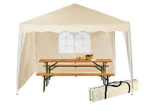 3 x 3 x 2.6m Pop-Up Gazebo with 3 years warranty @ LIDL £59.99