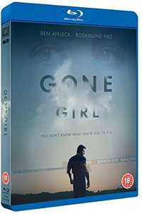 Gone Girl Bluray £6.74 (prime) £8.23 (non prime) @ Amazon