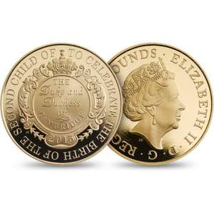 Royal baby coin - from £16 @ RoyalMint