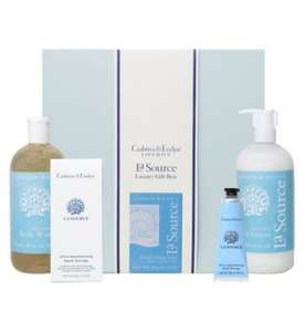 £15 Crabtree & Evelyn La Source luxury gift set at boots