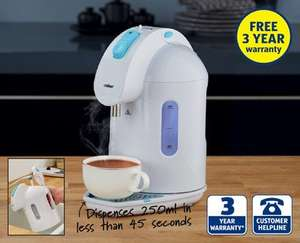 Instant Heat Kettle - £22.99 @ Aldi this Thurdsay 7th