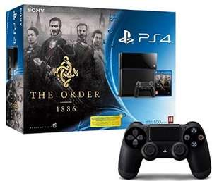 PS4 + The Order + 2 Controllers £294.68  (Or get with PES15 delivered also for £309.45) from Amazon France