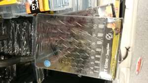8 Pack Drill Bits Set - £1 at Poundland